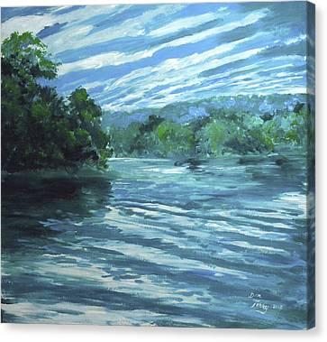 Reflective Landscape Canvas Print by Dan Terry
