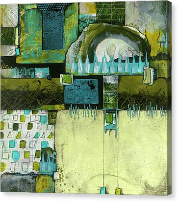 Grid Canvas Print - Refrain by Laura Lein-Svencner