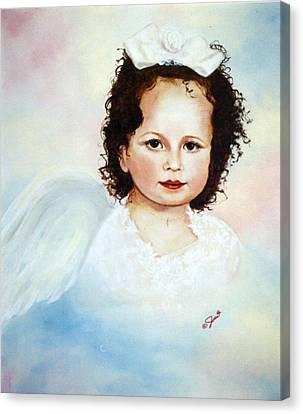 Regal Angel Canvas Print by Joni McPherson