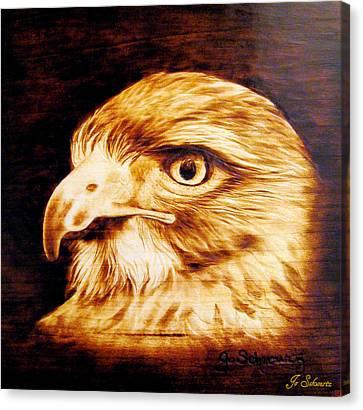 Regal Canvas Print by Jo Schwartz