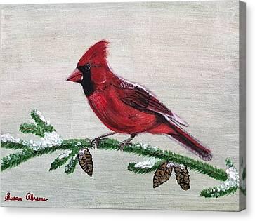 Regal Red Canvas Print
