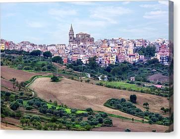 Regalbuto - Sicily Canvas Print by Joana Kruse