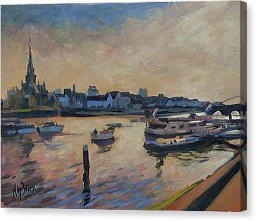 Regatta Maastricht Canvas Print by Nop Briex