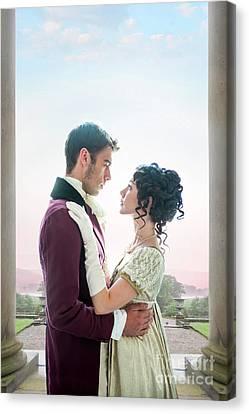 Regency Romance Canvas Print by Lee Avison