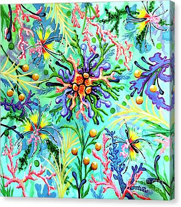 Regenerate Canvas Print by Sandra Lett