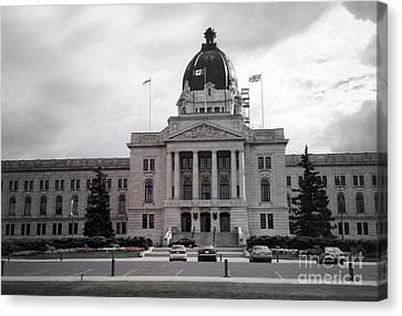 Regina Legislative Building Canvas Print by Sonya Chalmers