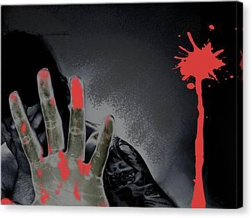Regret Canvas Print by Oscar  Servin
