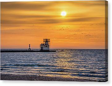 Canvas Print featuring the photograph Rehabilitation Rising by Bill Pevlor