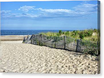 Rehoboth Delaware Canvas Print by Brendan Reals