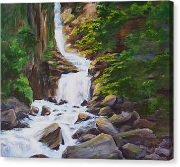 Reid Falls Canvas Print