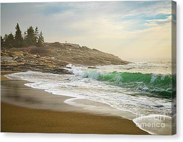 Reid State Park Canvas Print by Benjamin Williamson