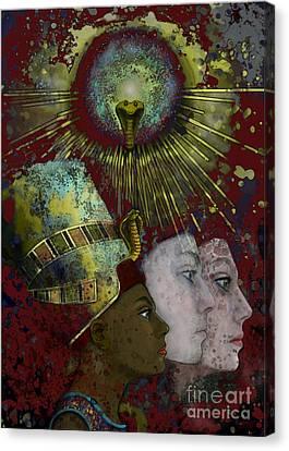 Incarnation Canvas Print - Reincarnate by Carol Jacobs