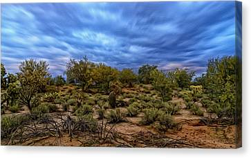 Canvas Print featuring the photograph Rejuvenation Op19 by Mark Myhaver