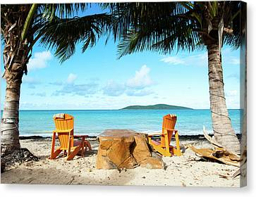 Relax In St Croix Canvas Print