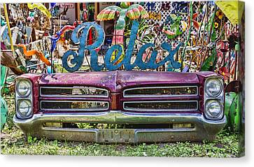 Relax Canvas Print by Stephen Stookey