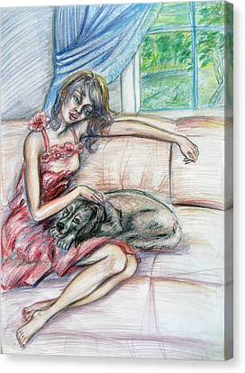 Relaxation  Canvas Print by Yelena Rubin