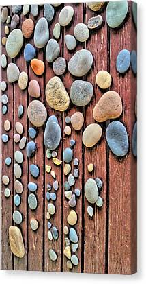 Relaxing Drops Of Stone Canvas Print by Sascha Richartz