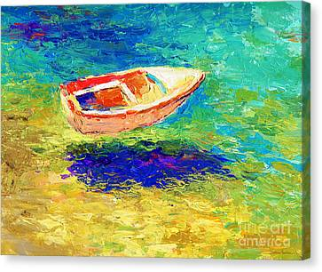 Relaxing Getaway Canvas Print by Svetlana Novikova