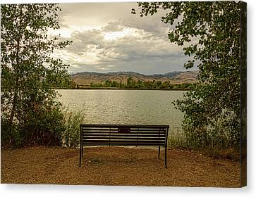 Canvas Print featuring the photograph Relaxing View by James BO Insogna