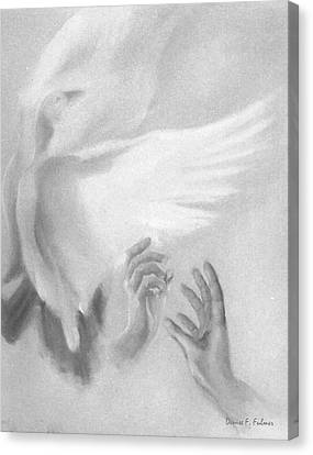 Release Canvas Print by Denise Fulmer