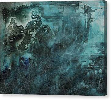 Releasing Aurora Canvas Print