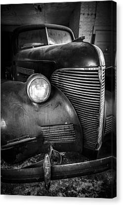 Old Car - Blue Ridge Mountains Canvas Print