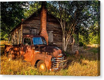 Relics Of The Past Canvas Print by Sussman Imaging