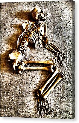 Remains ... Canvas Print by Juergen Weiss