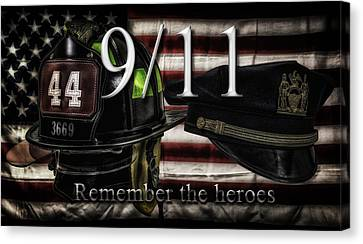Remember The Heroes Canvas Print