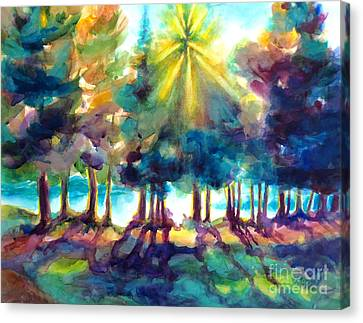 Canvas Print featuring the painting Remember The Son by Kathy Braud