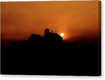 Canvas Print featuring the photograph Remember The Sun by Robert Geary