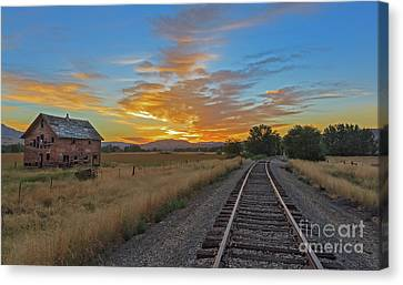 Remember When Canvas Print by Robert Bales
