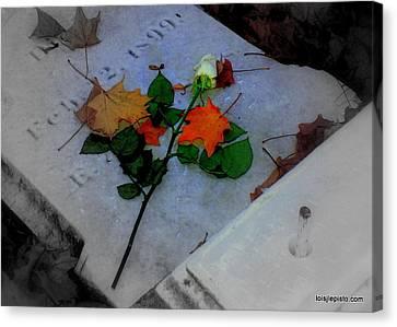 Rememberance Canvas Print by Lois Lepisto