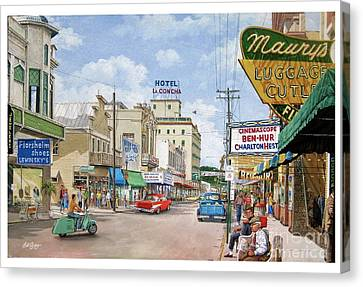 Remembering Duval St. Canvas Print