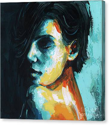 Remembering Canvas Print by Konni Jensen