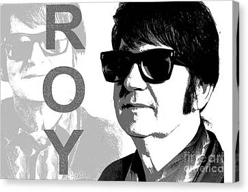 Roy Orbison Canvas Print - Remembering Roy by Patrick Dablow