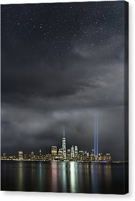 Remembrance  Canvas Print by Elvira Pinkhas