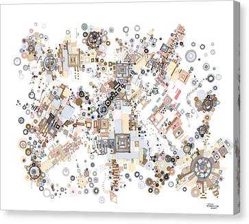 Remembrances Of Past Glories Canvas Print by Regina Valluzzi