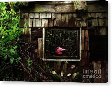 Reminiscence Of Childhood Canvas Print by Masako Metz