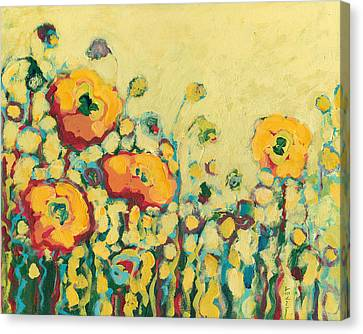 Impressionism Canvas Print - Reminiscing On A Summer Day by Jennifer Lommers