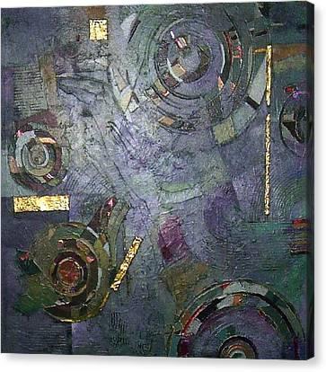 Remnants Of Time Canvas Print by Bernard Goodman
