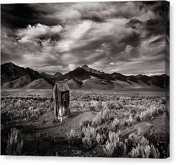 Pioneers Canvas Print - Remote Necessities by Leland D Howard