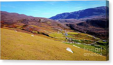Remote Port - Donegal Ireland Canvas Print