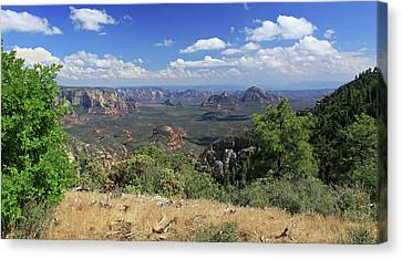 Canvas Print featuring the photograph Remote Vista by Gary Kaylor