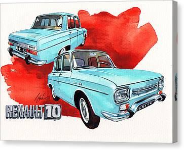 Renault 10 Canvas Print