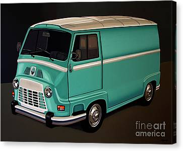 Renault Estafette 1959 Painting Canvas Print