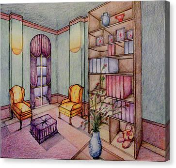 Rendering No.2 Canvas Print by Hye Ja Billie