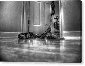 Rendezvous Do Not Disturb 05 Bw Canvas Print by Andy Lawless