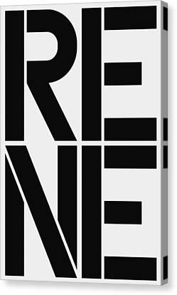 Rene Canvas Print