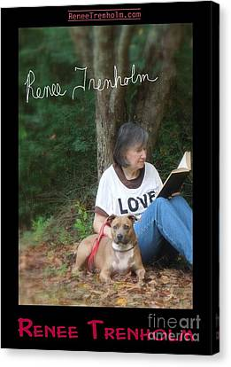 Renee Trenholm . Signed Canvas Print by Renee Trenholm